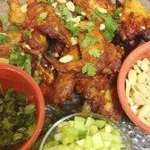 Picante asas de frango tailandês [receita]